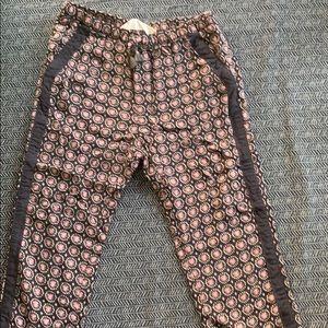 H&M light printed pants.
